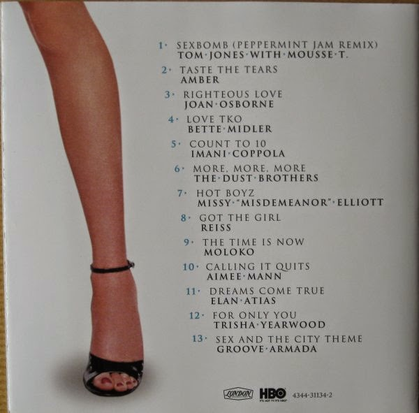 Sex and the city sound track